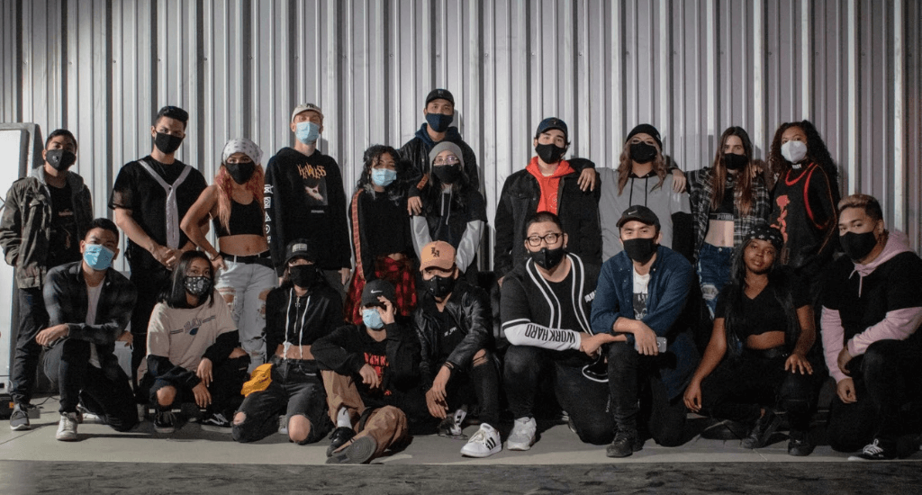 The Syde Project dance crew.