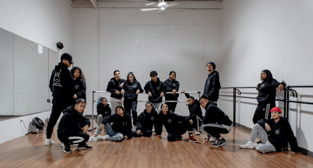 .The dance crew Syde Project in their element